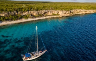 sail charter to dive in bonaire